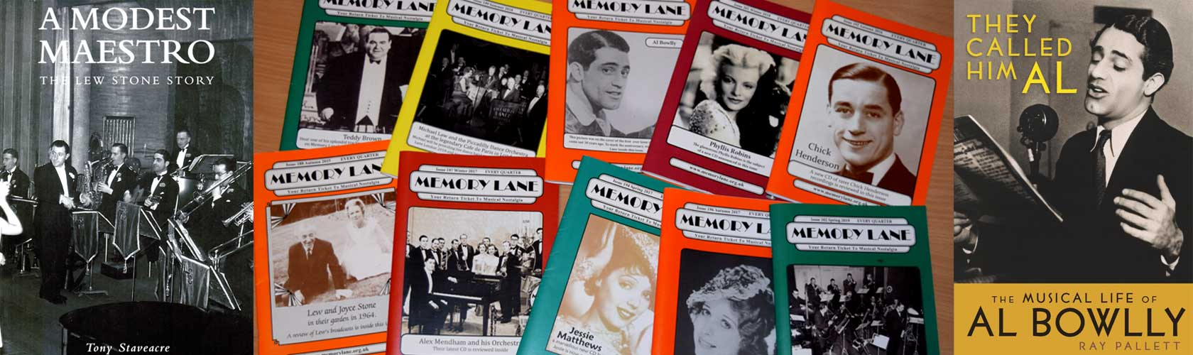 Memory Lane Magazines and Books